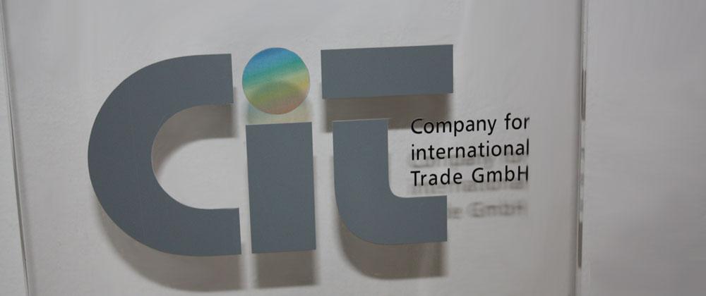 CiT GmbH Eingangsschild