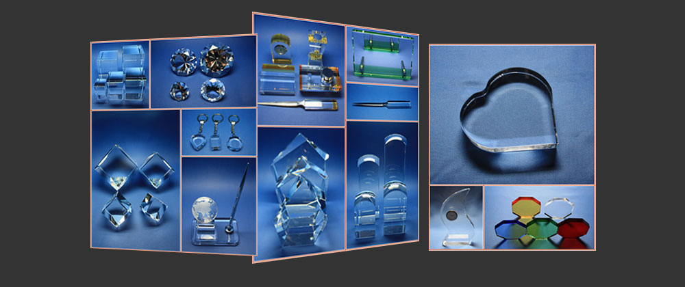 Kristallglas in Kategorien