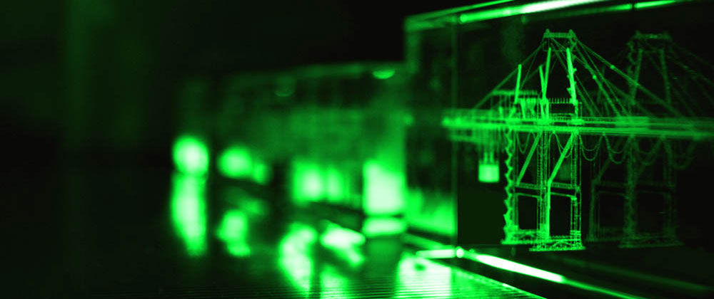 green light laser engraving