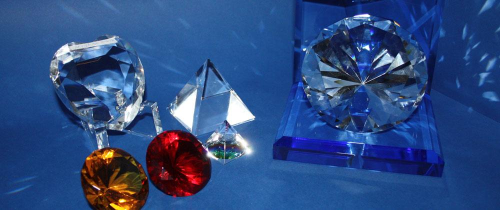 Nicht kategorisierte Kristallglasartikel