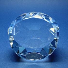 runde Form, diamantenähnlich