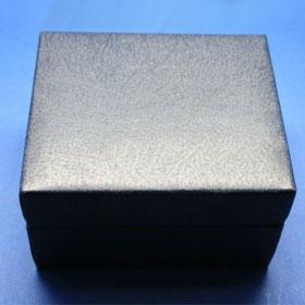 Blaue Geschenkbox, Außenansicht