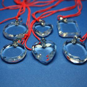 Kristallglasanhänger-Kollektion