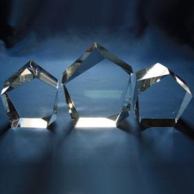 prestige crystal glass, 3 sizes