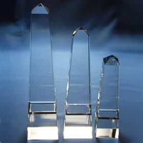 different obelisks, 3 sizes